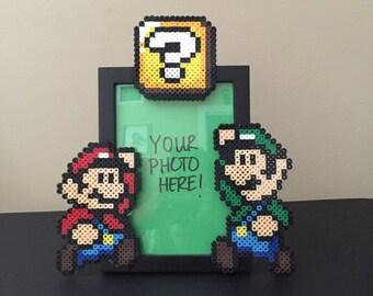 Mario & Luigi Picture Frame