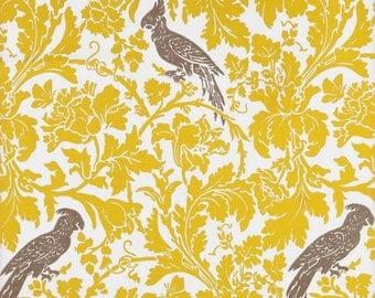 Yellow Valance.  Yellow Floral Valance .Curtain Valance. Yellow valance. Birds  Valance.Birds Window Treatment.