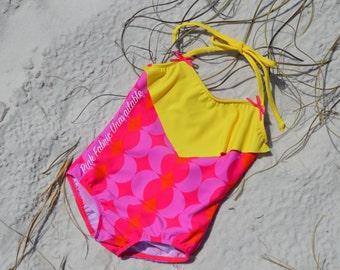 Shell Key One-Piece  (Choose Fabrics)