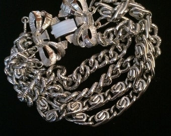 Lisner Multi Strand Chain Bracelet