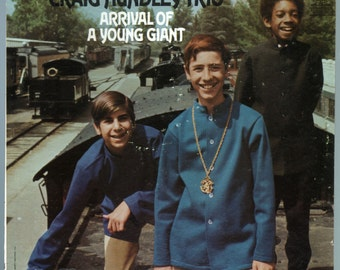 Craig Hundley Trio - Arrival of a Young Giant (1968) Vinyl; Jazz