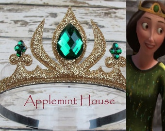 Princess Merida Crown, Brave Crown,Merida Inspired Headband,Merida Headband,baby princess headband,Princess Crown,Disney Crown