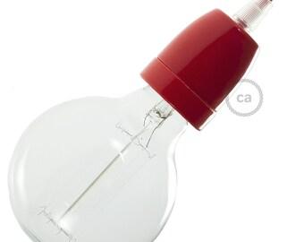 Porcelain Socket Kit - Red