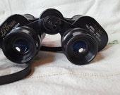 Vintage Binoculars, 7 x 35 Vintage camping, Binoculars with case, birdwatching, field glasses, opera glasses