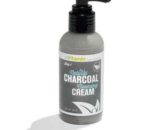 All Natural Charcoal Cleansing Cream