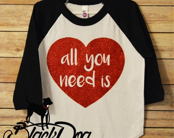 Love Shirt, Valentine's Day Gift, All You Need is Love tee, The Beatles
