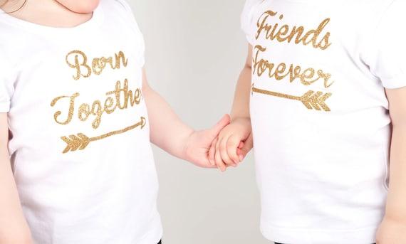 twin girl outfit twin girl outfits twin girl bodysuit twin. Black Bedroom Furniture Sets. Home Design Ideas