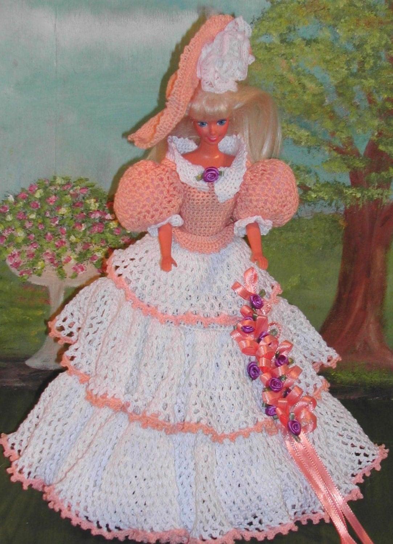 French Knitting Owl Doll : Crochet fashion doll barbie pattern afternoon stroll