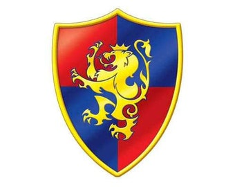 Knight's Crest Cutout