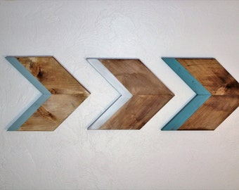 Chervron Arrows Painted