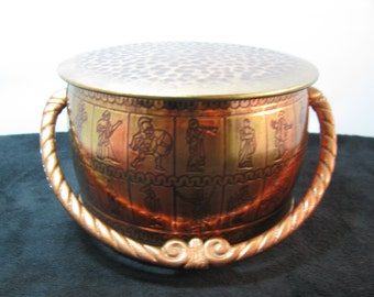 Fricke & Natke - West Germany Copper Tin, Vintage