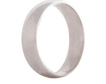 Wedding ring/band 5mm 9ct white gold