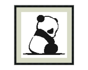 Panda Bear Animal Reusable Stencil Great For Craft And