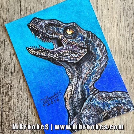 Raptor Blue Jurassic World Velociraptor Meeting Jerusalem House