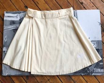 Wimbledon Cream Tennis Skirt