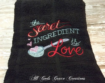 Tea Towel: The secret ingredient is love