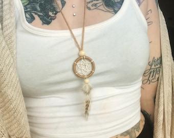 Custom Adjustable Dreamcatcher Necklace