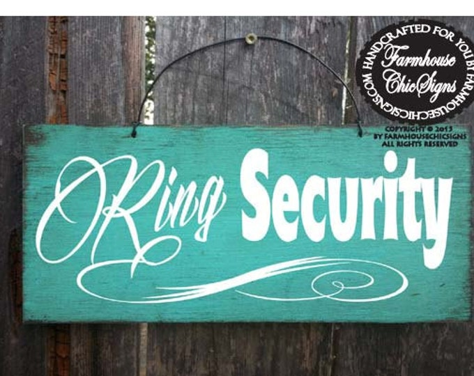 Ring Security Sign, Wedding Sign, Wedding Decor, Ring Boy Sign, Ring Bearer Sign, 70/160