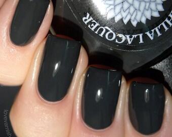 Off black nail polish by Black Dahlia Lacquer - Black Iris- 5-free and handmade