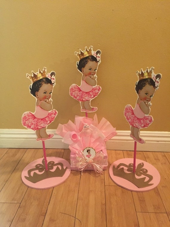 Ballerina Baby Shower Centerpiece Baby Shower Centerpiece