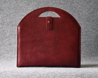 Leather MacBook Pro Sleeve, Leather MacBook Pro Case, MacBook Pro Laptop Case