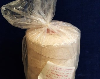 1 pound spool of cotton string vintage item