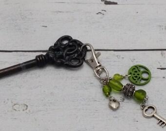 Keychain green