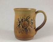 Pottery Mug, Ceramic Coffee Cup, Stoneware Mug