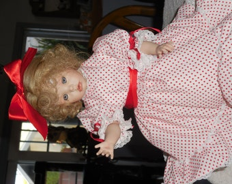Hilary porcelain doll