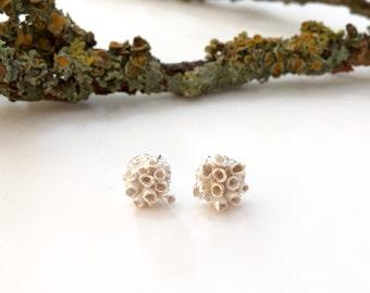 Green Man Forrest Stud Earrings