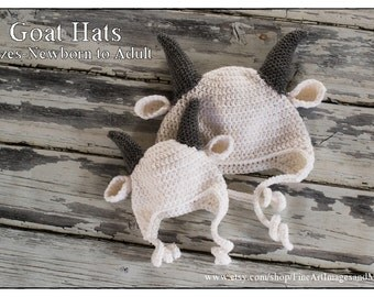 Goat Hat Teen/Adult size