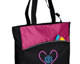 Personalized Tote Bag Embroidered Tote Bag Custom Tote Bag - Sports - Fishing - B1510