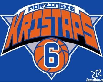 Kristaps Porzingis KP6 NY Knicks New York DBLR Mens