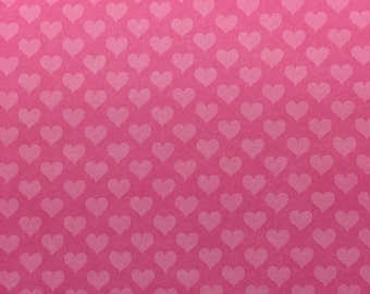 Pink Heart Cupcake Wrapper