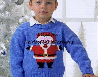 Santa sweater Etsy