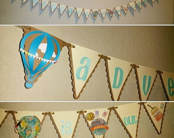 Adventure Is Out There Playroom Banner
