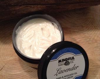 Lavender Body Cream - Lavender Cream - Lavender Lotion - Lavender Body Lotion - Handmade Lavender Body Cream