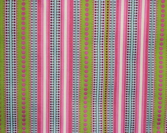 P Kaufmann Chanda Stripe Multi Fabric Remnant