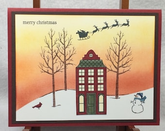 Christmas Handmade Stampin' Up! Card