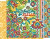 CLEARANCE SALE!  Graphic 45 Bohemian Bazaar 12x12 Paper Mega Kit