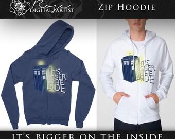 It's bigger on the inside | Doctor Who - Zip Hoodie