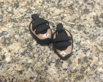 Climbing Shoe Earrings