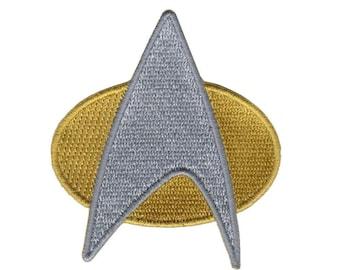 Velc. Hook Fastener Star Trek Command Insignia Space Exploration Kirk Communicator Patch