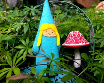 Sweet Little Blue Gnome