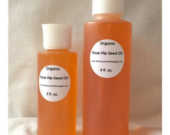 Rose Hip Seed Oil - Organic, Cold Pressed // Rosehip Oil, Rose Hip Oil