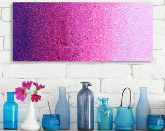 Pink Wall Art purple wall art | etsy