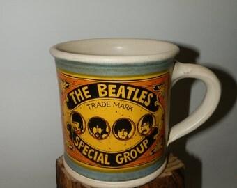 Handmde Cofee/Tea Ceramic mug - The Beatles - Special Quality