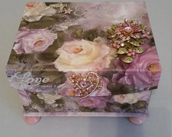 Rose Jewerly Box