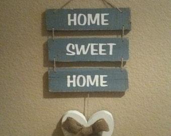 Home Sweet Home Vintage Pallet Sign
