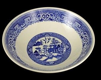 Blue Willow Bowl, Homer Laughlin